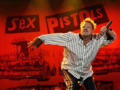 John Lydon of the Sex Pistols performs on stage at the Isle of Wight Festival in 2008 (Yui Mok/PA)