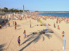 Spain is a major draw for British holidaymakers (Owen Humphreys/PA)