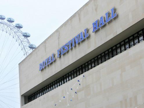 Royal Festival Hall (Johnny Green/PA)