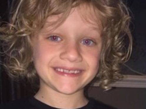 The family of nine-year-old Jordan Banks have paid tribute to him following his death on Tuesday after being struck by lightning (Lancashire Police/PA).