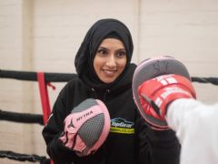 England's first hijab-wearing boxing coach Haseebah Abdullah is among 14 'Hometown Heroes' unveiled by Birmingham 2022 (Birmingham 2022/PA)