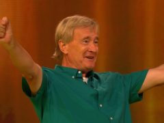 Tom celebrates his win (ITV/Banijay/PA)