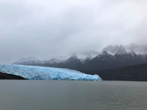 Melting glaciers and ice sheets are contributing around half the sea level rise the world is experiencing (Emily Beament/PA)