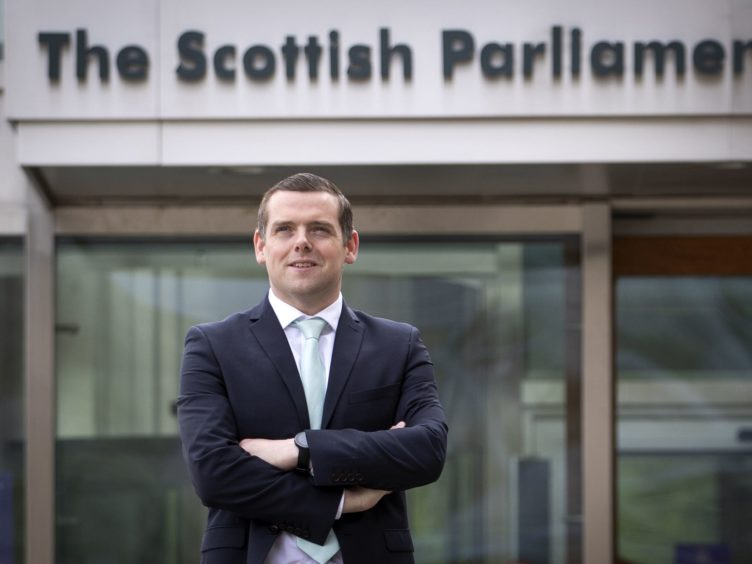 Scottish Conservative leader Douglas Ross said his party would introduce 16 Bills at Holyrood (Jane Barlow/PA)