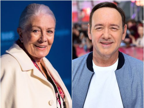 Vanessa Redgrave will not appear in a new film alongside Kevin Spacey, a representative for the venerated actress said (Dominic Lipinski/Matt Crossick/PA)
