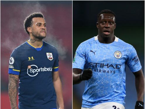 Ryan Bertrand and Benjamin Mendy feature in today's transfer speculation (Laurence Griffiths/Mike Egerton/PA)