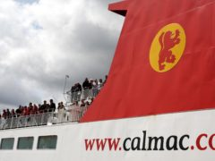 Ministers are 'actively exploring' chartering additional ferries to help on CalMac routes (Andrew Milligan/PA)