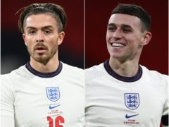 Jack Grealish and Phil Foden have been tipped for big summers (PA)