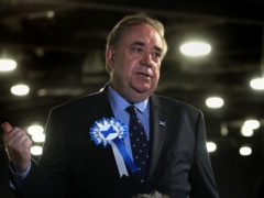 Alba Party leader Alex Salmond warned the issue of independence must not be allowed to slip down the political agenda (Andrew Milligan/PA)