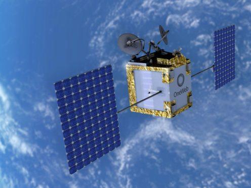 OneWeb is developing satellites (OneWeb/PA)