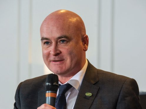 Mick Lynch has been elected the new RMT general secretary (RMT/PA)
