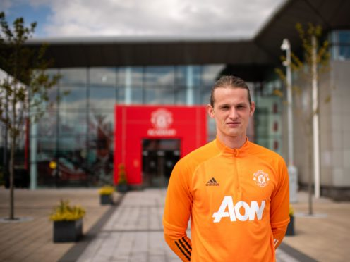 Max Taylor is leaving Manchester United (Manchester United handout)