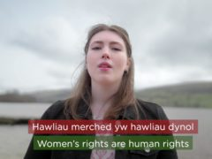 """Urdd Gobaith Cymru's annual message of peace and goodwill says to ensure equality for women is """"more than a hashtag"""" (Urdd)"""
