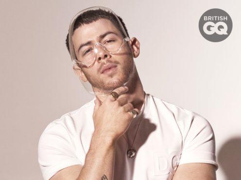 Nick Jonas in GQ Hype (Mariano Vivanco/PA)