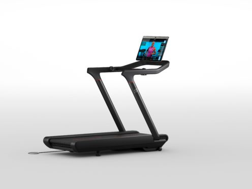 The touchscreen on one model available in the UK can detach and fall, while the US-only model poses death hazard (Peloton/PA)