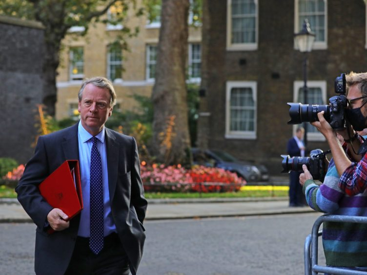 Scottish Secretary Alister Jack did not say if the UK Government will try to challenge in the courts any attempt by the Scottish Government to hold a second independence referendum (Aaron Chown/PA)