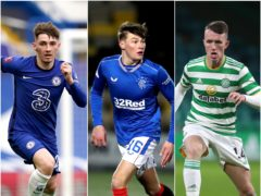 Billy Gilmour, Nathan Patterson and David Turnbull are heading to the Euros (PA)