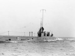 The D1 was an innovative design which paved the way for later Royal Navy submarines (Imperial War Museum/PA)