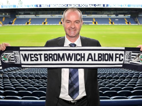 On this day in 2012, Steve Clarke was appointed West Brom head coach (Owen Humphreys/PA)