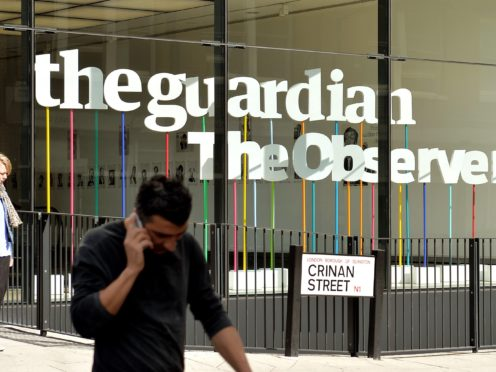 The Guardian Media Group's chief executive Annette Thomas has quit (John Stillwell/PA)