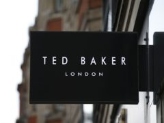 Ted Baker is on track to reveal a £65 million loss for the past year (Jonathan Brady/PA)
