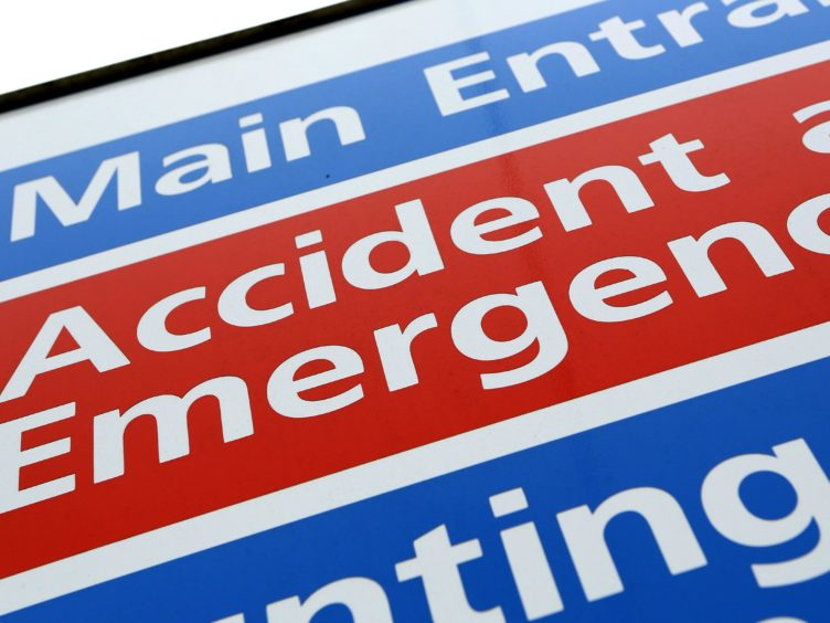 New figures show that A&E attendances are at their highest since before the coronavirus pandemic (Chris Radburn/PA)