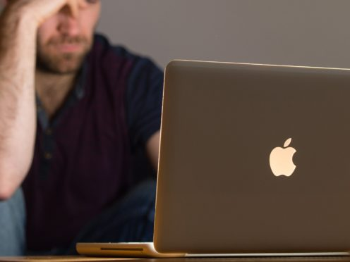 Many websites were affected by an internet outage on Tuesday (Dominic Lipinski/PA)