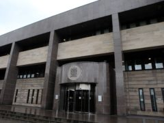 The man is expected to appear at Glasgow Sheriff Court at a later date (Andrew Milligan/PA)