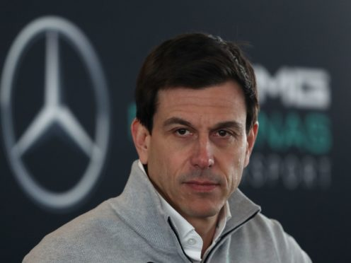 Mercedes chief Toto Wolff wants to see better from his team (David Davies/PA)