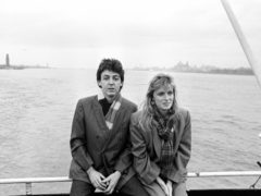 Sir Paul and Linda McCartney (PA)