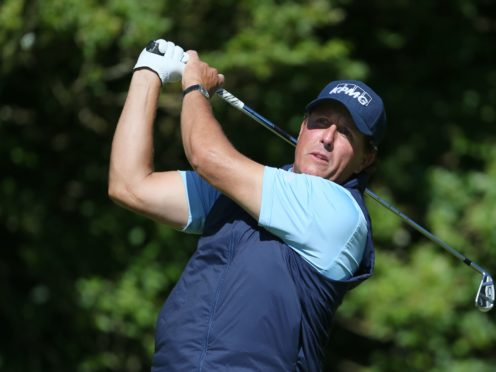 Phil Mickelson needs to win the US Open to complete a career grand slam (Richard Sellers/PA)