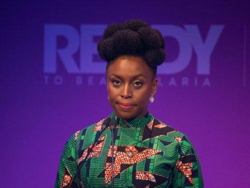 Chimamanda Ngozi Adichie (Dominic Lipinski/PA)