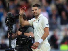 James Anderson will equal an England record on one of his favourite grounds (Adam Davy/PA)