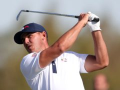 Brooks Koepka is unconcerned about the impact of his rivalry with Bryson DeChambeau on the US Ryder Cup team (David Davies/PA)