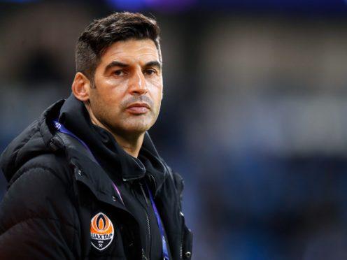 Paulo Fonseca managed Roma last season (