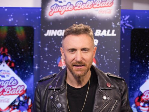 French superstar DJ David Guetta has sold his back catalogue to Warner Music in a deal reportedly worth about 100 million dollars (£72 million) (David Parry/PA)