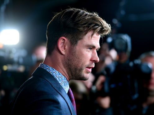 Actor Chris Hemsworth has been recognised for his service to the arts and his commitment to charitable organisations in the Queen's Birthday Honours list (Ian West/PA)