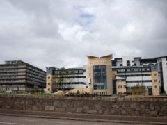 Daniel Kalinski was airlifted to Aberdeen Royal Infirmary after the crash on Thursday (Jane Barlow/PA)