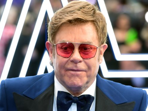 Sir Elton John said the new requirements will be 'crucifying' for new artists just starting to tour (Ian West/PA)