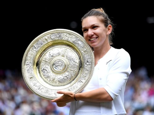 Simona Halep will hope to defend her Wimbledon title later this month (Laurence Griffiths/PA)