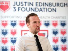 Charlie Edinburgh set up the Justin Edinburgh 3 Foundation in memory of his late father (Joe Giddens/PA)