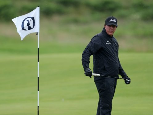 Phil Mickelson became golf's oldest major winner when he claimed the US PGA title at the age of 50 (David Davies/PA)