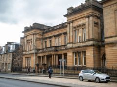 Ben McCulloch appeared at Paisley Sheriff Court (John Linton/PA)