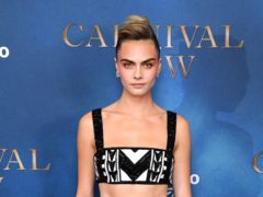 Model Cara Delevingne has said how she sexually identifies constantly changes, describing it as being like a 'pendulum swinging' (Ian West/PA)