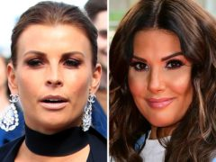 Coleen Rooney (left) has accused Rebekah Vardy (right) of selling stories from her private Instagram account to the tabloids (PA)