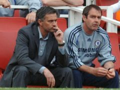 Jose Mourinho (left) backed former assistant Steve Clarke to lead Scotland past the group stages (Sean Dempsey/PA)