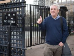 Former speaker of the House of Commons John Bercow (Stefan Rousseau/PA)