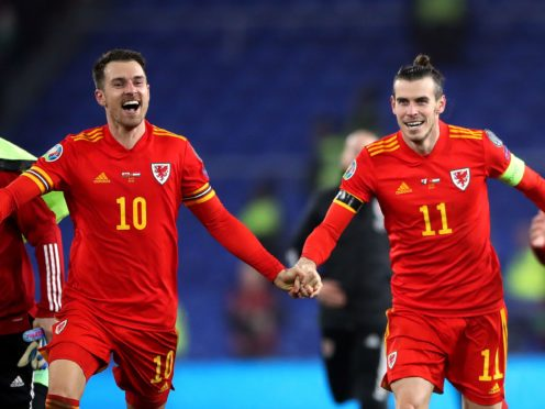 Aaron Ramsey (left) and Gareth Bale (right) are set to play key roles again for Wales (Nick Potts/PA).