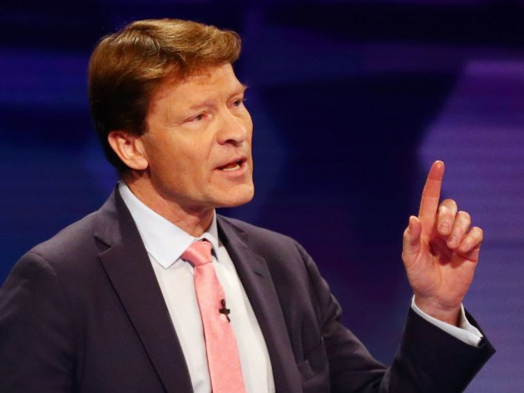 Reform UK leader Richard Tice said the Tories were the preferential option over Labour in Batley and Spen (Hannah McKay/PA)