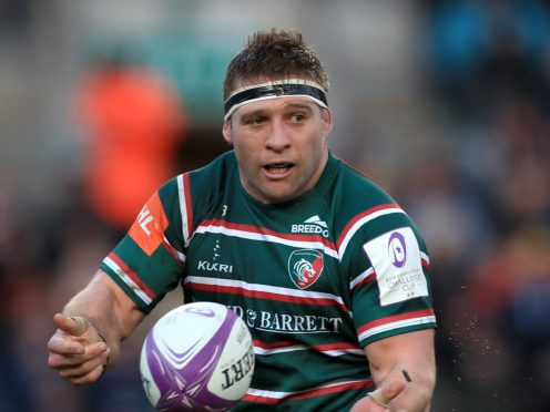 Leicester captain Tom Youngs (PA)